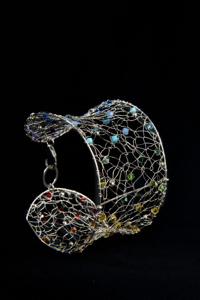 Bracciale artigianale in argento