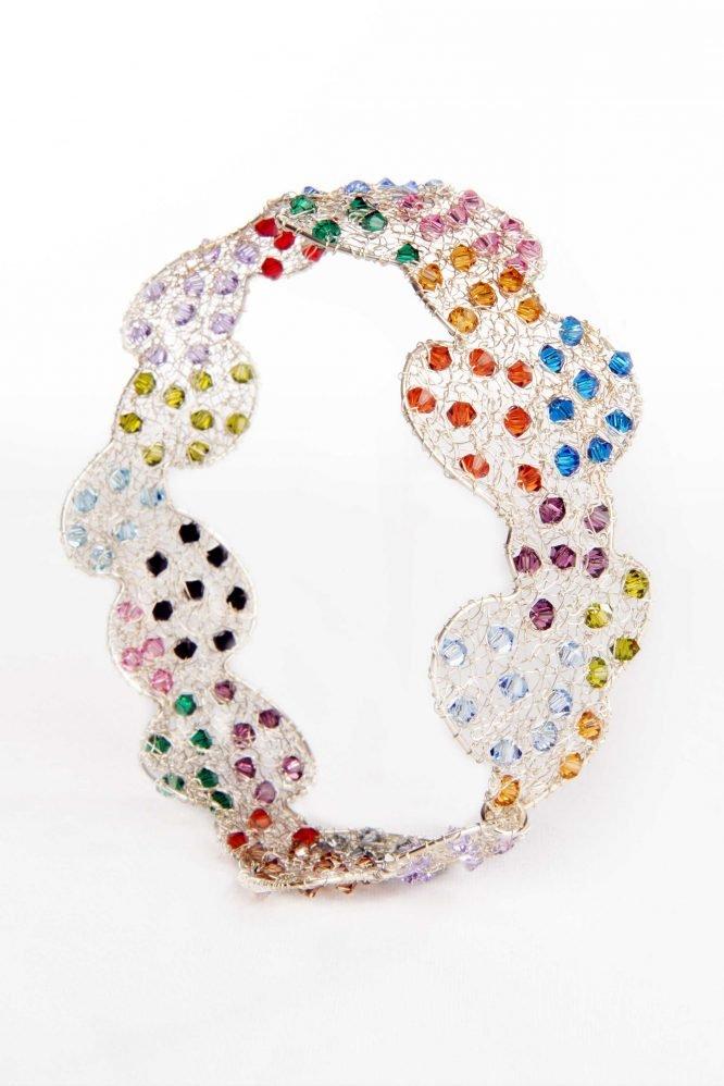 Mille Palloncini- Bracciale con cristalli Swarovski