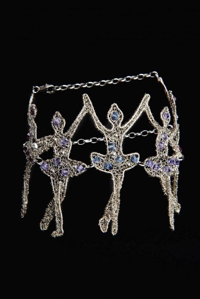 Quintetto - Bracciale con cristalli Swarovski