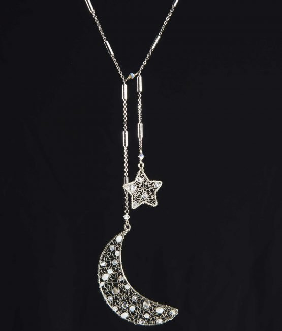 Notte – Collana con cristalli Swarovski