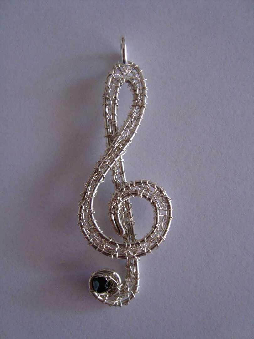 Con La Cristalli Nel Ciondolo Collana Swarovski Per Musica Cuore wOP8nX0k